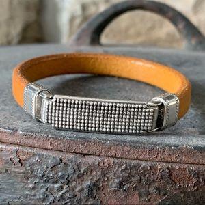 Unisex Spanish Leather Bracelet